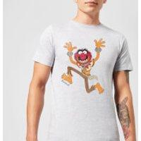 Disney Muppets Animal Classic T-Shirt - Grey - XL - Grey - Muppets Gifts