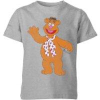 Disney Muppets Fozzie Bear Classic Kids' T-Shirt - Grey - 11-12 Years - Grey - Muppets Gifts
