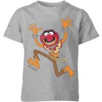 Disney Muppets Animal Classic Kids' T-Shirt - Grey - 11-12 Years - Grey - Muppets Gifts