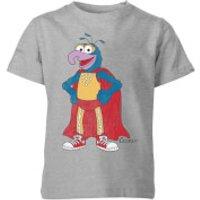 Disney Muppets Gonzo Classic Kids' T-Shirt - Grey - 11-12 Years - Grey - Muppets Gifts