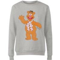 Disney Muppets Fozzie Bear Classic Women's Sweatshirt - Grey - XXL - Grey - Bear Gifts
