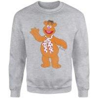 Disney Muppets Fozzie Bear Classic Sweatshirt - Grey - XXL - Grey - Bear Gifts