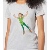 Disney Peter Pan Flying Women's T-Shirt - Grey - XL - Grey - Peter Pan Gifts