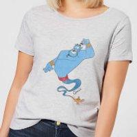 Disney Aladdin Genie Classic Women's T-Shirt - Grey - S - Grey - Aladdin Gifts
