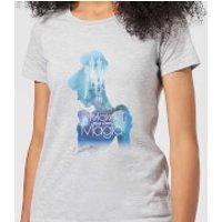 Disney Princess Filled Silhouette Cinderella Women's T-Shirt - Grey - M - Grey - Cinderella Gifts