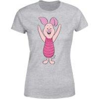 Disney Winnie The Pooh Piglet Classic Women's T-Shirt - Grey - XXL - Grey - Winnie The Pooh Gifts