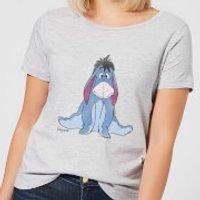Disney Winnie The Pooh Eeyore Classic Women's T-Shirt - Grey - S - Grey