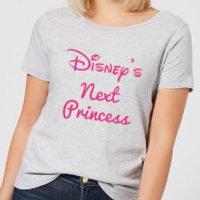 Disney Princess Next Women's T-Shirt - Grey - S - Grey