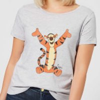 Disney Winnie The Pooh Tigger Classic Women's T-Shirt - Grey - XL - Grey - Tigger Gifts