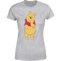 Disney Winnie The Pooh Classic Women's T-Shirt - Grey - XXL - Grey - Winnie The Pooh Gifts