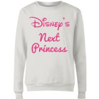Princess Next Women's Sweatshirt - White - XXL - White
