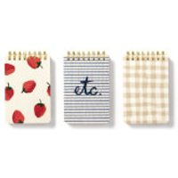 Kate Spade Spiral Notepad - Set Of 3 - Strawberries