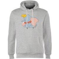 Disney Dumbo Classic Hoodie - Grey - S - Grey
