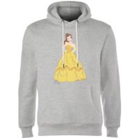 Disney Princess Belle Classic Hoodie - Grey - M - Grey - Disney Princess Gifts