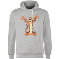 Disney Winnie The Pooh Tigger Classic Hoodie - Grey - S - Grey - Tigger Gifts