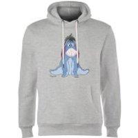 Disney Winnie The Pooh Eeyore Classic Hoodie - Grey - M - Grey - Eeyore Gifts