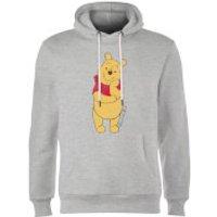 Disney Winnie The Pooh Classic Hoodie - Grey - S - Grey