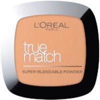 L'Oreal Paris True Match Face Powder 9g (Various Shades) - 8W Golden Cappuccino