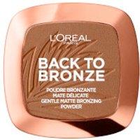L'Oreal Paris Matte Bronzing Powder - Back To Bronze 9g