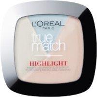 L'Oreal Paris True Match Powder Glow Illuminating Highlighter - Icy Glow 9g