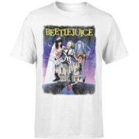 Beetlejuice Distressed Poster T-Shirt - White - M - White