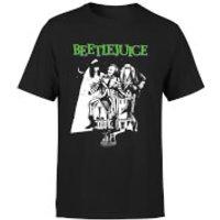 Beetlejuice Mono Poster T-Shirt - Black - XL - Black