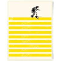 Robert Farkas Slide On Stripes Art Print
