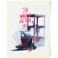Robert Farkas Still Waiting For Your Call Art Print