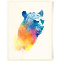 Robert Farkas Sunny Bear Art Print - Bear Gifts