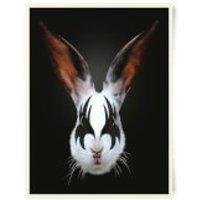 Robert Farkas Kiss Of A Rabbit Art Print - Rabbit Gifts
