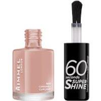 Rimmel 60 Seconds Super Shine Nail Polish 8ml (Various Shades) - Caramel Cupcake