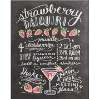 Lily & Val Strawberry Daiquiri Print - Strawberry Daiquiri Gifts