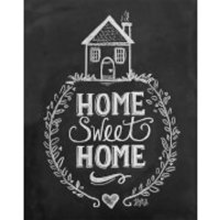 Lily & Val Home Sweet Home Print - Home Gifts