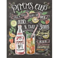Lily & Val Pimms Cup Print - Cup Gifts