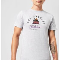 Native Shore Men's Los Angeles Surfwear T-Shirt - Grey - 3XL - Grey