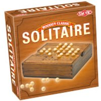 Wooden Classic Solitaire - Wooden Gifts