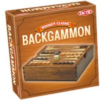 Wooden Classic Backgammon - Wooden Gifts