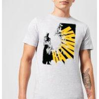 DC Comics Batman Bat Spread T-Shirt - Grey - 3XL - Grey