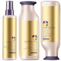 Pureology Fullfyl Colour Care Shampoo, Conditioner and Densify Spray Trio