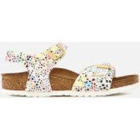Birkenstock Birkenstock Kids' Rio Double Strap Sandals - Microfiber - UK 2/EU 34 - White