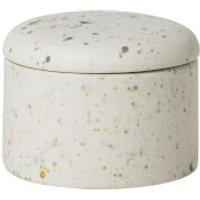 Broste Copenhagen Terraz Ceramic Deco Box - Ivory - Ivory Gifts