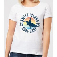 Jaws Amity Surf Shop Women's T-Shirt - White - XXL - White - Surf Gifts