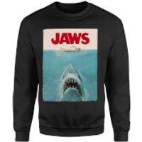 Jaws Classic Poster Sweatshirt - Black - XXL - Black