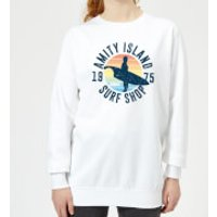 Jaws Amity Surf Shop Women's Sweatshirt - White - XXL - White - Surf Gifts