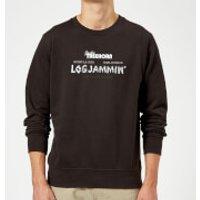 The Big Lebowski Logjammin Sweatshirt - Black - 5XL - Black