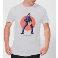 The Big Lebowski The Jesus T-Shirt - Grey - XXL - Grey - Jesus Gifts