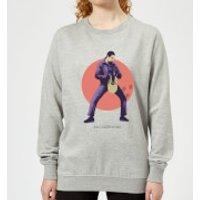 The Big Lebowski The Jesus Women's Sweatshirt - Grey - XXL - Grey - Jesus Gifts