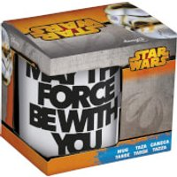 Taza Star Wars May The Force Be With You