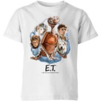 ET Painted Portrait Kids' T-Shirt - White - 3-4 Years - White