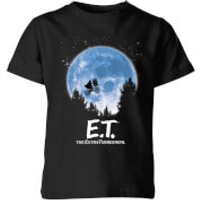 ET Moon Silhouette Kids' T-Shirt - Black - 11-12 Years - Black
